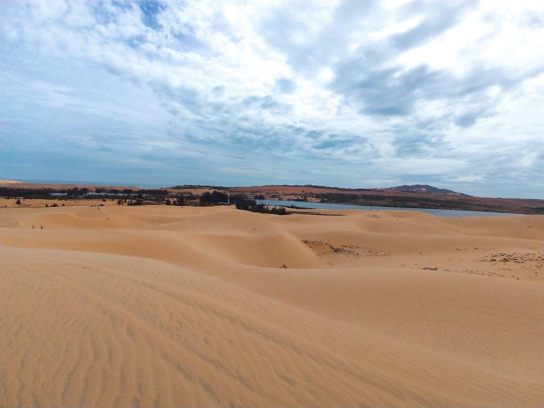 白沙丘風景