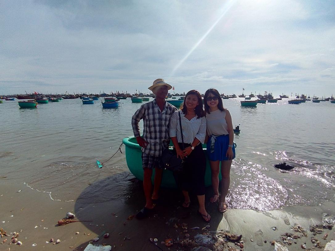 美奈傳統漁船體驗