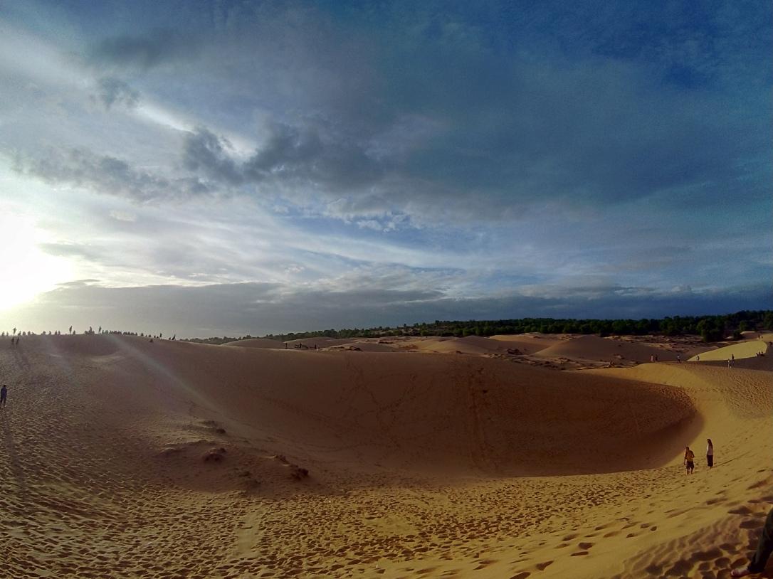 美奈紅沙丘日落